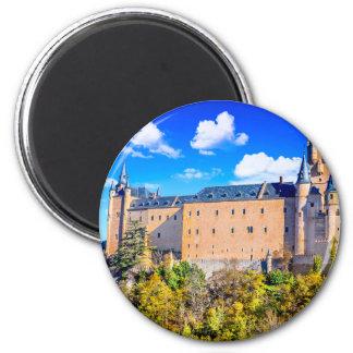 Imã Castelo redondo de Segovia do ímã