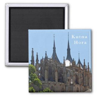 Imã Catedral gótico de St. Barbara em Kutna Hora.