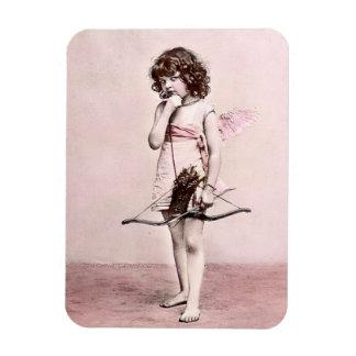 Ímã cauteloso do Cupido dos namorados do vintage