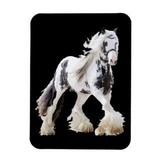 Ímã Cavalo de esboço aciganado do garanhão da égua