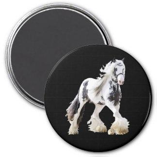 Imã Cavalo de esboço aciganado do garanhão da égua