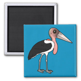 Imã Cegonha de marabu de Birdorable