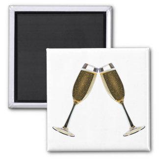 Imã Celebração dos vidros de Champagne