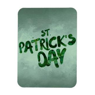 Ímã Céltico verde do irlandês do trevo do Dia de São
