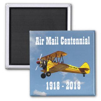 Imã Centennial histórico do serviço de correio aéreo