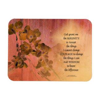 Ímã Cerca uma do marmelo da oração da serenidade