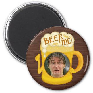 Imã Cerveja engraçada mim foto personalizada | do