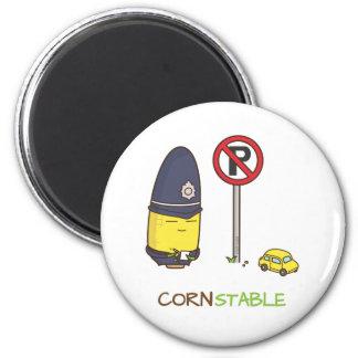 Imã Chalaça Amusing da polícia de trânsito bonito do