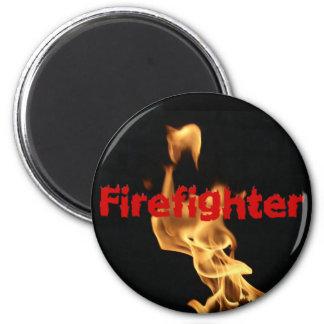 Imã Chamas flamejantes do fogo do sapador-bombeiro