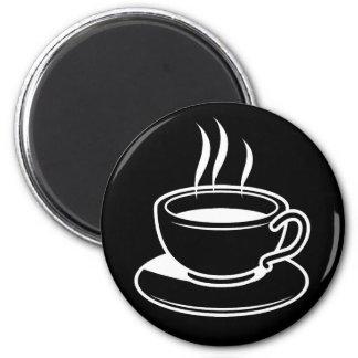 Imã Chávena de café quente - preto