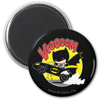 Imã Chibi Batman no Batmobile