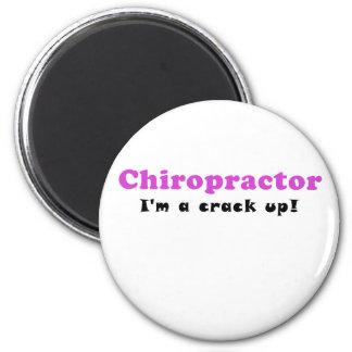 Imã Chiropractor Im uma rachadura acima