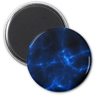 Imã Choque eléctrico em azul escuro
