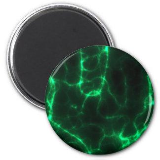 Imã Choque eléctrico em verde escuro