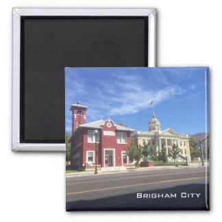 Imã Cidade de Brigham - rua principal