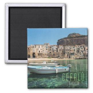 Imã Cidade de Cefalu em Sicília