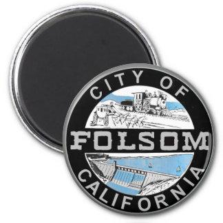 Imã Cidade de Folsom, logotipo do gráfico de
