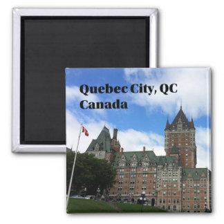 Imã Cidade de Quebec - ímã do turista de Frontenac do