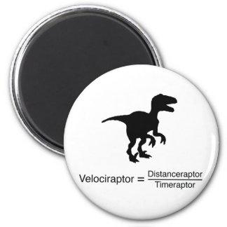 Imã ciência engraçada do velociraptor