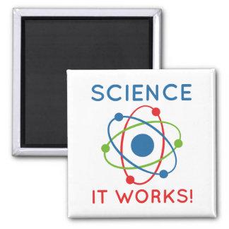 Imã Ciência que trabalha!