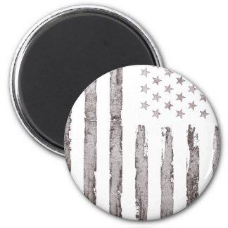Imã Cinza do vintage da bandeira americana