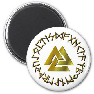Imã Círculo do Rune com Volknot