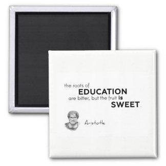 Imã CITAÇÕES: Aristotle: Raizes da educação