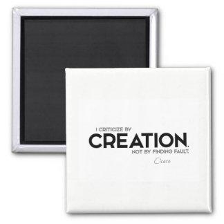 Imã CITAÇÕES: Cicero: Critique pela criação