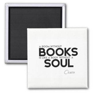Imã CITAÇÕES: Cicero: Sala sem livros