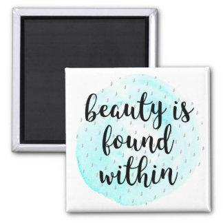 Imã Citações da beleza da aguarela