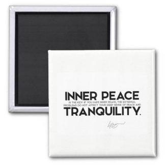 Imã CITAÇÕES: Dalai Lama - a paz interna é a chave