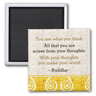 Imã Citações de inspiração de Buddha do pensamento