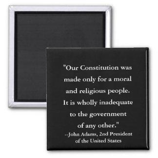 Imã Citações do presidente John Adams na constituição