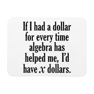 Ímã Citações engraçadas da matemática/álgebra - eu