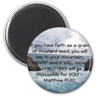 Imã Citações inspiradores da bíblia do 17:20 de Matthe