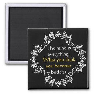 Imã Citações inspiradores de Buddha dos pensamentos
