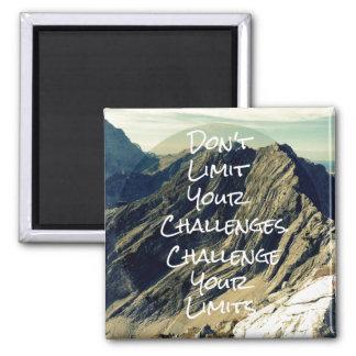 Imã Citações inspiradores: Desafie seus limites