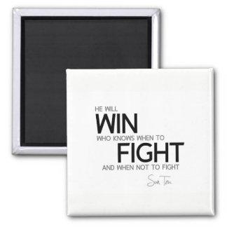 Imã CITAÇÕES: Sun Tzu: Saiba quando lutar