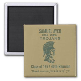 Imã Classe de Samuel Ayer 40th '77 da reunião Momento