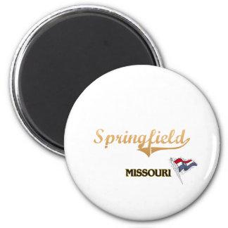 Imã Clássico da cidade de Springfield Missouri