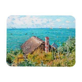 Ímã Claude Monet a cabine em belas artes do
