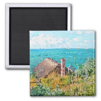 Imã Claude Monet a cabine em belas artes do