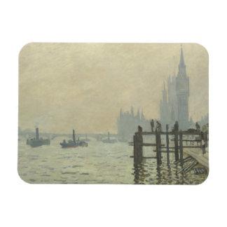 Ímã Claude Monet - a Tamisa em Westminster