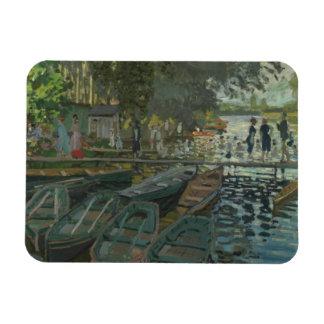 Ímã Claude Monet - Bathers no La Grenouillere