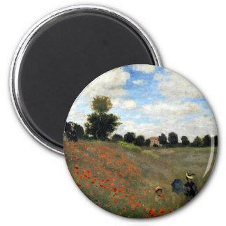 Imã Claude Monet - Les Coquelicots