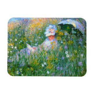 """Ímã Claude Monet """"no prado """""""
