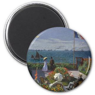 Imã Claude Monet - o jardim na arte de Sainte Adresse
