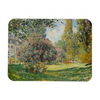 Ímã Claude Monet - paisagem: O Parc Monceau