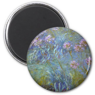 Imã Claude Monet - pintura clássica das flores do