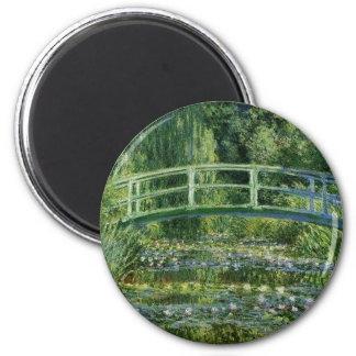 Imã Claude Monet - ponte japonesa